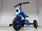 Трехколесный велосипед на гелиевых колесах Bugatti. Играет музыка и светит фара!, фото 4