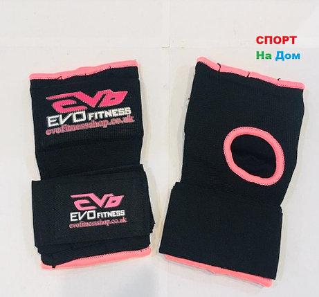 Перчатки шингарты для боевых искусств EVO Размер L (цвет розовый, черный), фото 2