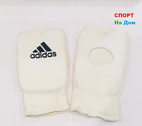 Перчатки шингарты для боевых искусств Adidas Размер L (цвет белый)