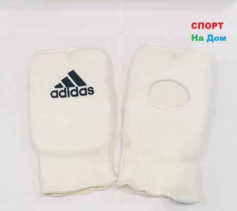Перчатки шингарты для боевых искусств Adidas Размер L (цвет белый), фото 2