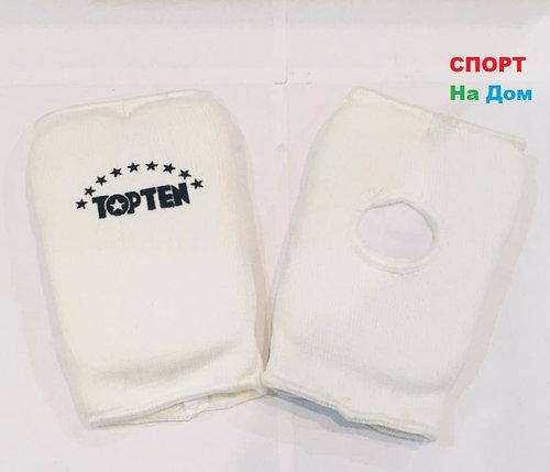 Перчатки шингарты для боевых искусств Top Ten Размер M (цвет белый), фото 2