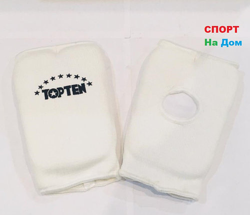 Перчатки шингарты для боевых искусств Top Ten Размер XS (цвет белый), фото 2