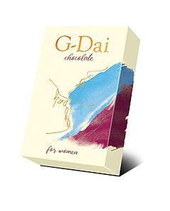 "Женский тёмный шоколад ""G-Dai"", 15 грамм"