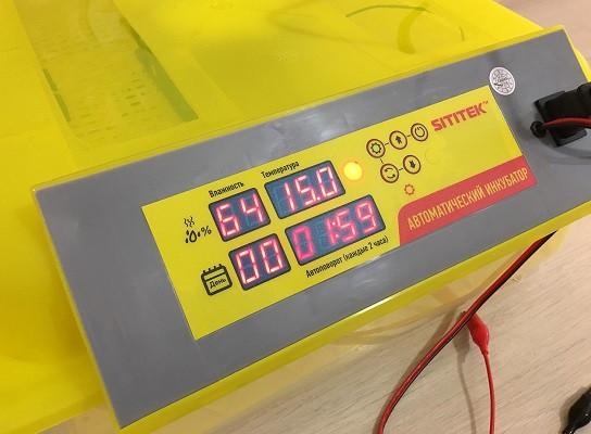 Цифровая панель управления инкубатором (нажмите на фото для увеличения)