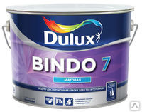Dulux Bindo 7 Матовая краска для стен и потолков BW 10 л