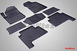 Резиновые коврики Сетка для Nissan Patrol VI 2010-н.в., фото 6