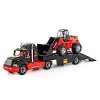 """206-01 """"MAMMOET"""", автомобиль-трейлер + трактор-погрузчик"""
