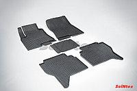 Резиновые коврики для Mitsubishi Pajero IV 2006-н.в.