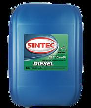 Масло моторное SINTOIL Diesel CF-4 SAE 10w40 API CF-4/SJ (30л)