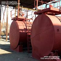 Резервуар горизонтальный стальной, тип РГС - 25м3