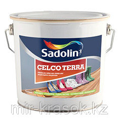 Лак для пола Sadolin CELCO TERRA 45 «полуглянцевый» 10л