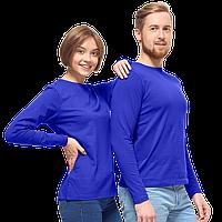 Футболка унисекс с длинным рукавом, StanCasual, 35, Синий (16/1), S/46, фото 1