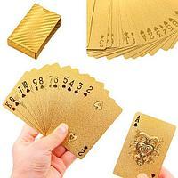 Колода игральных карт под золото Premium Gold Standard Poker