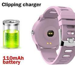 Умные часы водонепроницаемые MAFAM S08 с пульсометром и измерением давления (Розовый), фото 3