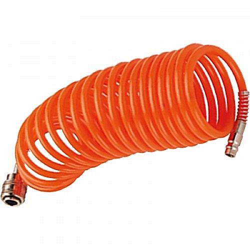 Нейлоновый спиральный шланг Fubag 6x8мм 15м