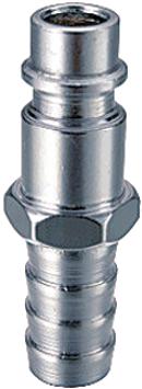 Разъемное соединение рапид (штуцер)_елочка 8мм с обжимным кольцом 8х13мм180161
