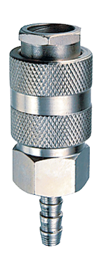 Разъемное соединение рапид (муфта)_елочка 6мм с обжимным кольцом 6х11мм180120