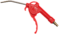 Пневмопистолет продувочный с регулятором воздушного потока в блистере