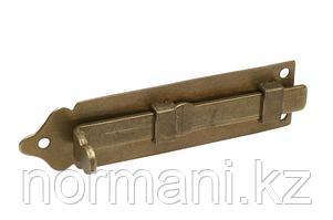 Шпингалет, отделка бронза античная