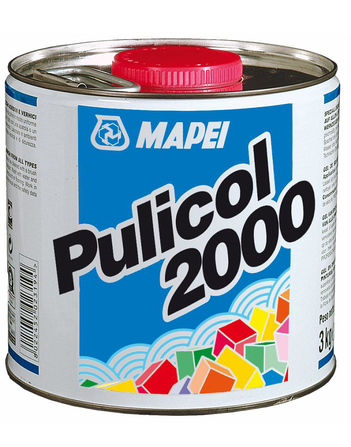 Гель для смывки старой краски и клея PULICOL 2000 (Пуликол), 075 кг. 2500