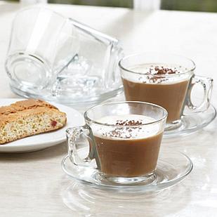 Чайный сервиз Pasabahce Vale 205 мл (12 пр)