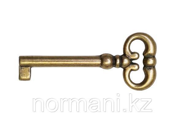 Ключ 45мм, отделка бронза античная