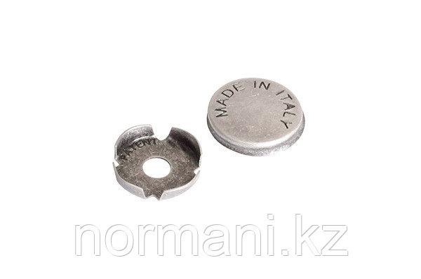 Заглушка декоративная для винта крепления ручки, отделка серебро старое