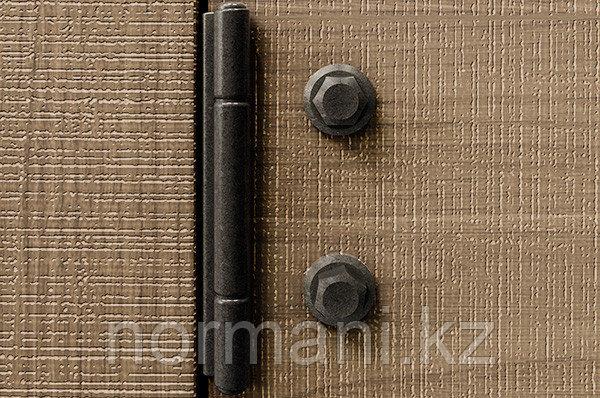 Петля декоративная Evolve 250, отделка железо черное винтаж