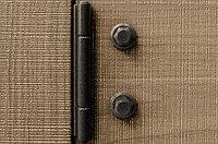 Петля декоративная Evolve 250, отделка железо черное винтаж, фото 1