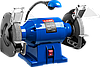 Профессиональный станок ЗУБР точильный двойной, лампа подсветки, d=150х25х32мм, 350Вт