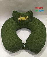 Подушка для шеи Мстители Avengers (цвет зеленый)