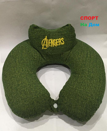 Подушка для шеи Мстители Avengers (цвет зеленый), фото 2