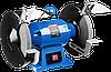 """Cтанок ЗУБР """"ПРОФЕССИОНАЛ"""" точильный двойной, лампа подсветки, D250х25хd32мм, 750Вт"""