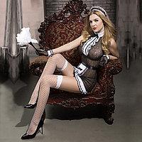 """Ролевой костюм """"Sweet maid"""" (платье, трусики, перчатки, ободок, чулки, щётка), фото 1"""