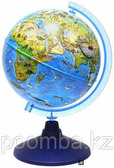 Глобус Зоогеографический детский 25см