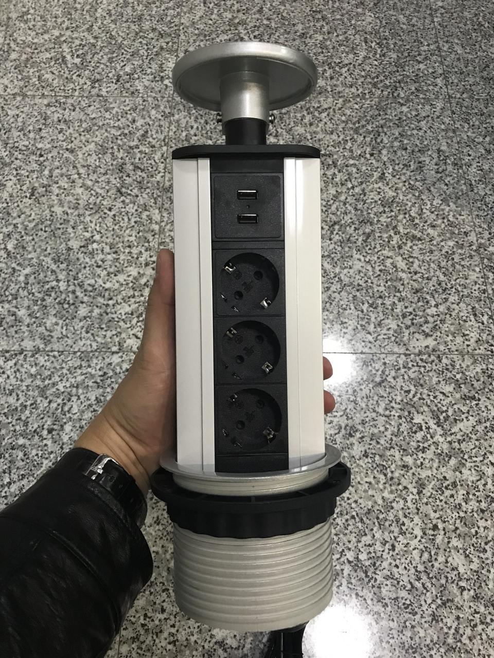 Вертикальный розеточный блок G1203S-2UC