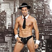 """Ролевой костюм """"Waiter"""" (галстук, шляпа, трусы, пистолет, манжеты), фото 1"""