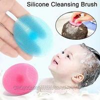 Щетка-массажер( для мытья головы новорожденных), фото 3
