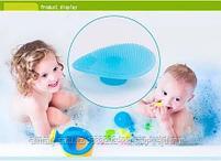 Щетка-массажер( для мытья головы новорожденных), фото 5