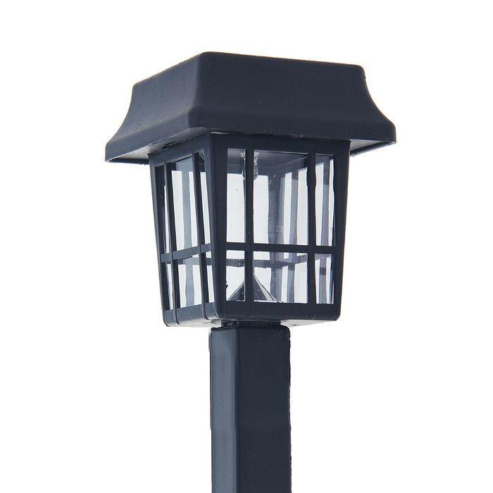 Садовый светильник на солнечной батарее (классический фонарик) (SLR-LND-35)  LAMPER  (602-203)