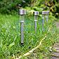 Садовый светильник на солнечной батарее (алюминиевый) (SLR-ST-31)  LAMPER, фото 3