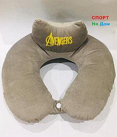Подушка для шеи Мстители Avengers (цвет серый)
