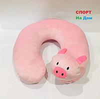Подушка для шеи (цвет розовый)