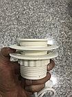 Встраиваемая розетка в мебель  белая G5201-1UC, фото 3