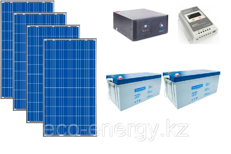 Автономная солнечная станция 4,5 кВт*ч в сутки (1 кВт в час) 24/220 В