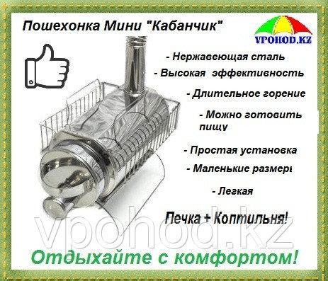 """Печь походная Пошехонка Мини """"Кабанчик"""" (печка для палатки)"""