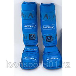Защита голени и стопы каратэ карате Arawaza (футы, щитки для единоборств)
