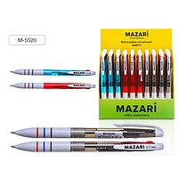 Ручка шариковая, автоматическая, DARTY, 0,7 мм, 3 цвета, корпус пластиковый ассорти.