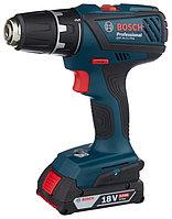 Шуруповерт аккумуляторный, Bosch GSR 18-2-LI Plus, 0 601 9E6 120