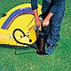 Ручной насос для мячей, матраса, велосипеда с иглой (Intex) 48см, фото 6